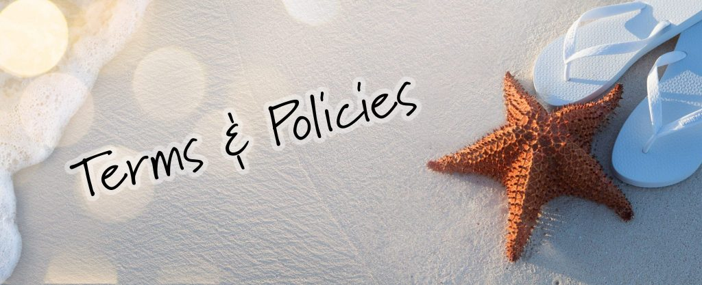 Terms Policies Select Vacation Properties